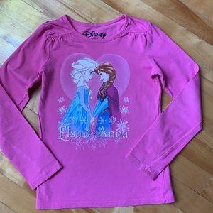 3/$20 Disney Elsa & Anna long sleeves shirt .